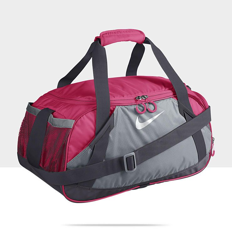 4122493e4afc Nike Varsity Girl 2.0 (Medium) Duffel Bag (Spark and Wolf Grey ...