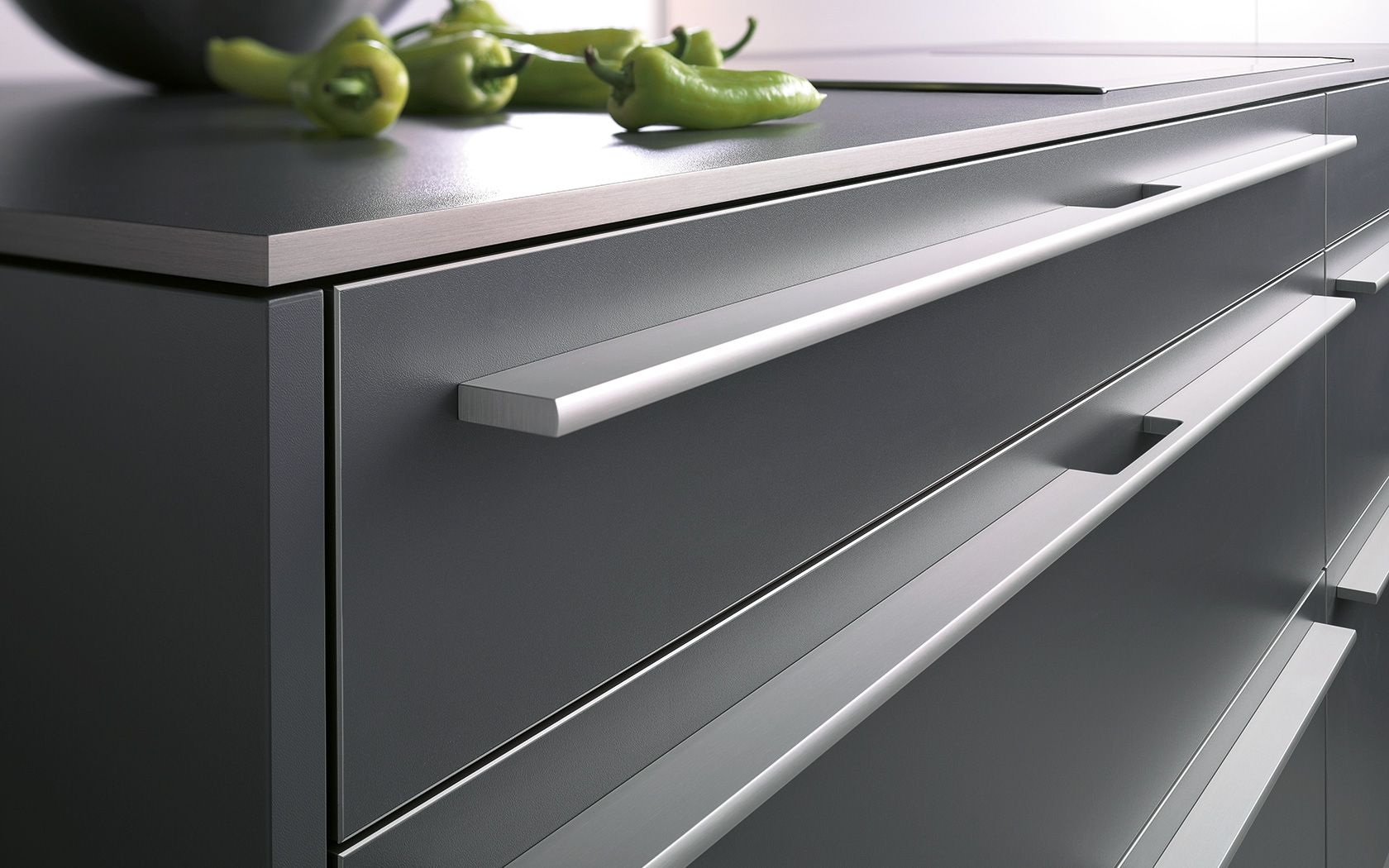 Best Modern Kitchen Cabinet Pulls | Kitchen cupboard handles ...