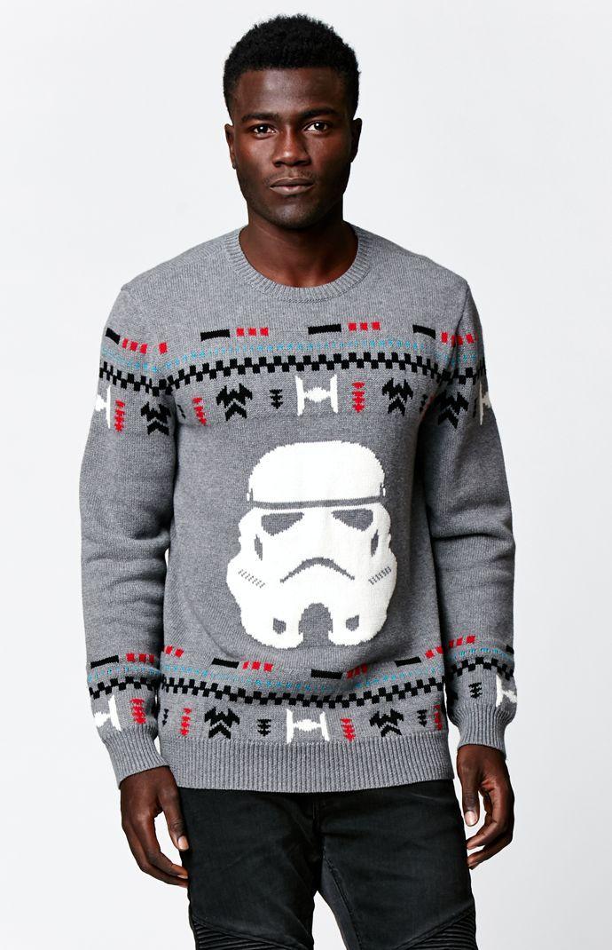 on the byas x disney star wars stormtrooper ugly christmas sweater - Ugly Christmas Sweater Star Wars