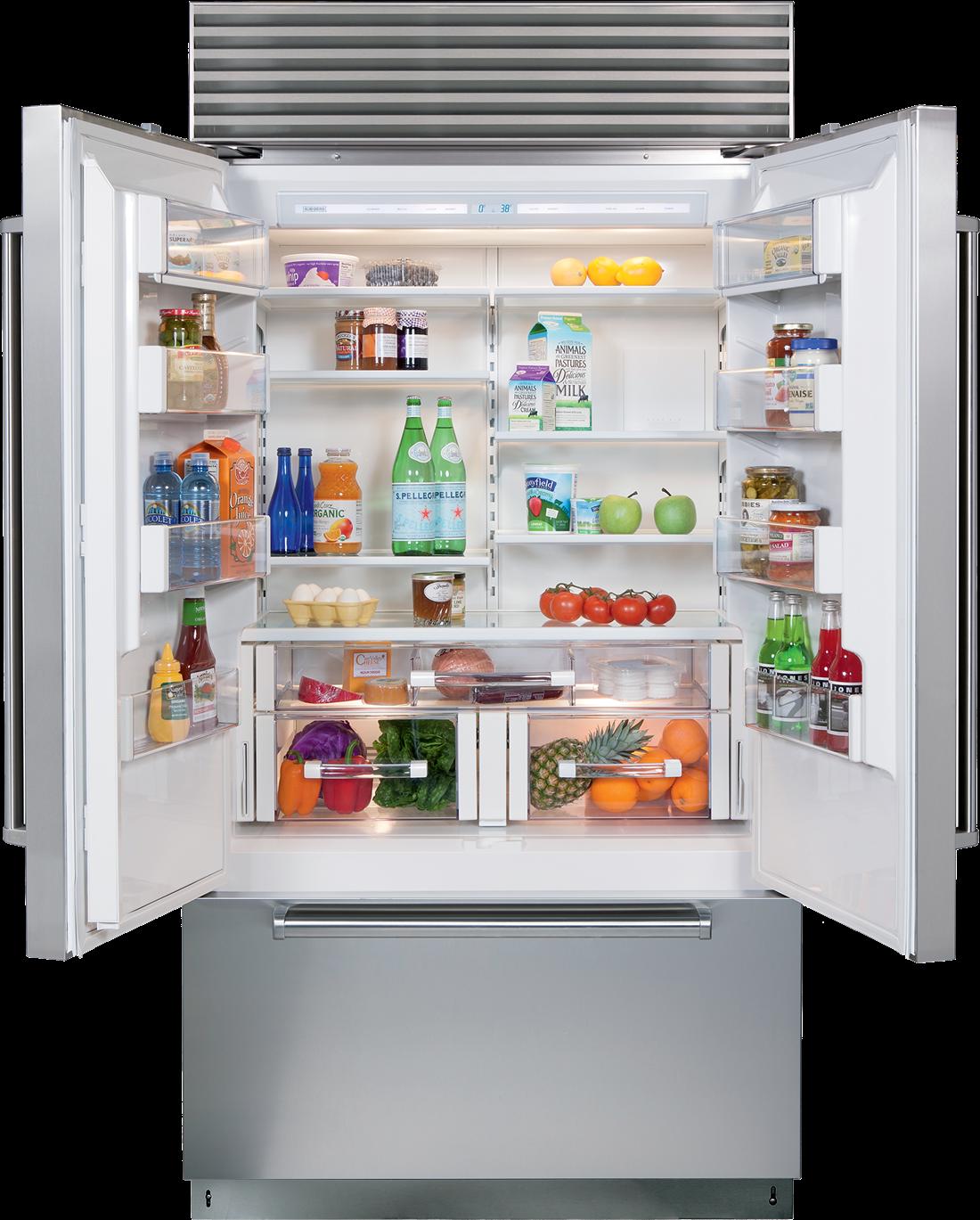 Sub Zero 42 Classic French Door Refrigerator Freezer Bi 42ufd S French Door Refrigerator Fridge French Door French Doors