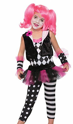Forum Novelties Kids Lil Trixie The Clown Costume Multicolor Small - halloween costume ideas for tweens