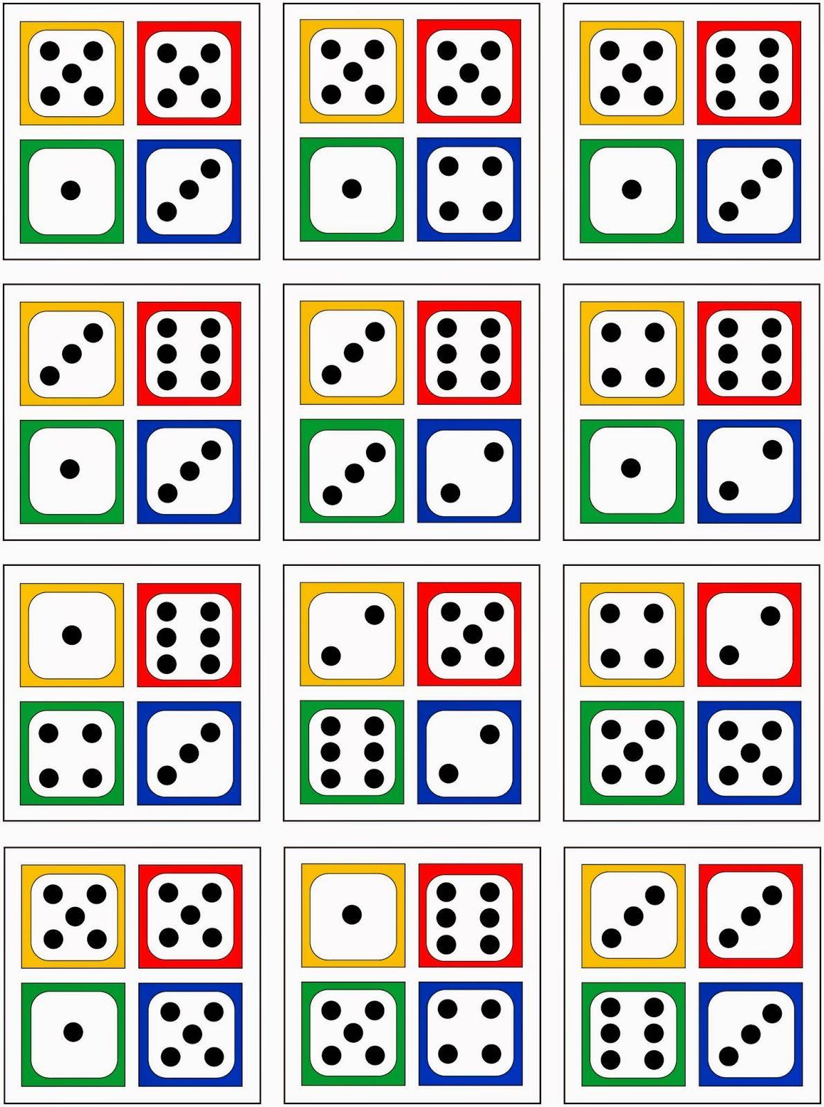 4 w rfelbilder zur erfassung von anzahlen bis 20 mathe w rfelbilder mathe unterrichten und. Black Bedroom Furniture Sets. Home Design Ideas