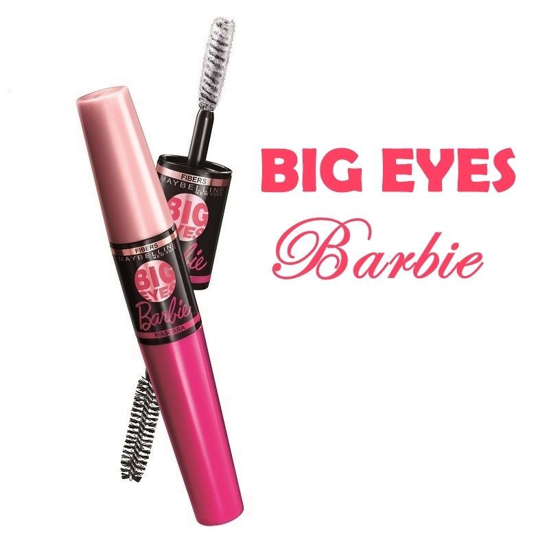 6221986935b Big Eyes Barbie Mascara The fluffiest volume and extreme length in three  simple steps Effortless transformation from a natural day look to a dolled  up night ...