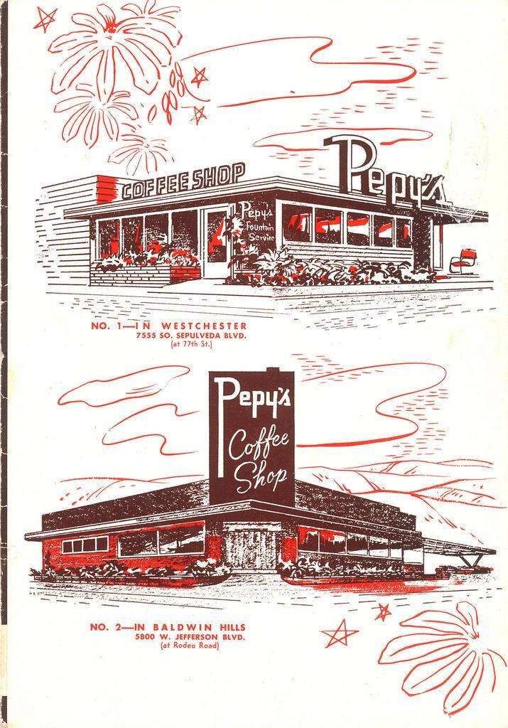 Pepy S Coffee Shop Flickr Photo Sharing Vintage Menu Creative Illustration Menu Design