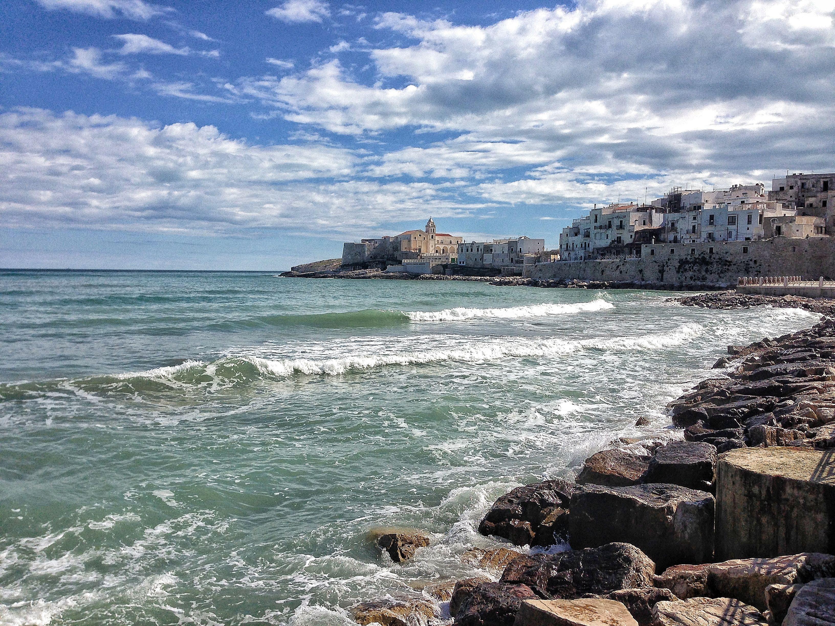 Centro di Vieste Gargano Puglia Viaggi e Spiagge