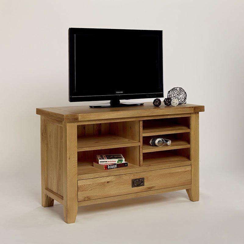 Provence Solid Oak TV Video Unit (Sizes Small, Medium) -  - TV Unit - Ametis - Space & Shape - 1