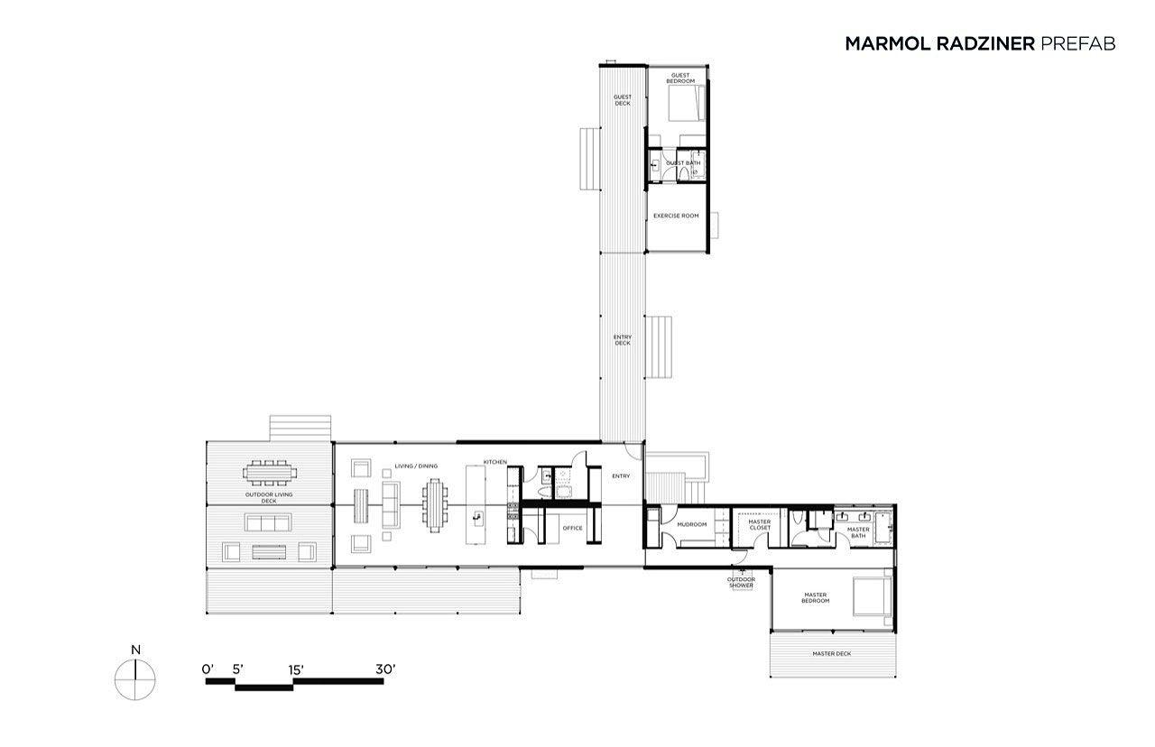 Best Kitchen Gallery: Hidden Valley Prefab In Moab By Marmol Radziner 29 Christmas of Marmol Radziner Homes on rachelxblog.com