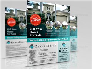 flyer design for real estate brokerage sales promo flyer by