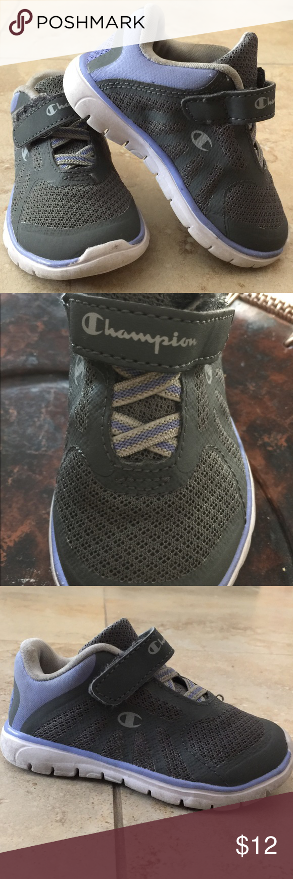 f63c6aa20d3c7 Champion Baby shoe size 6 Used but perfect condition great and blue color. Champion  Shoes Sneakers