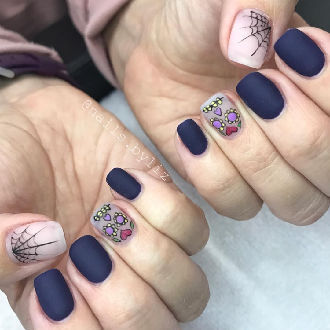 Pin by Anna Grossman on Nails | Pinterest | Sexy nails, Black nails ...