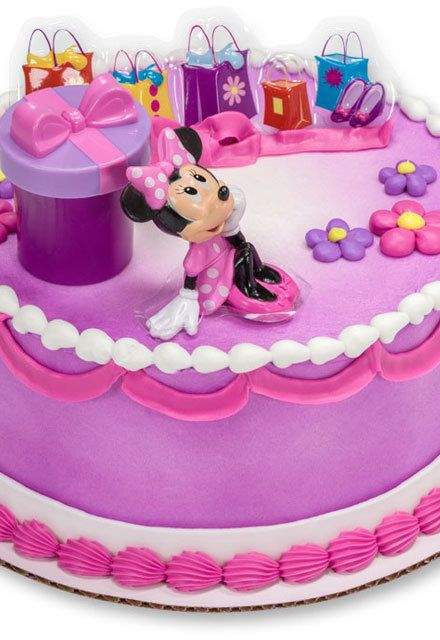 HowTo Make a Bright Spring Wedding Cake Minnie mouse birthday