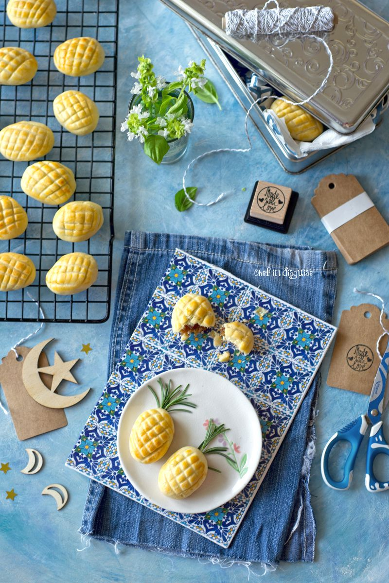 Nastar Cookies Indonesian Pineapple Tarts Pineapple Tart Pinapple Recipes Pear And Almond Cake