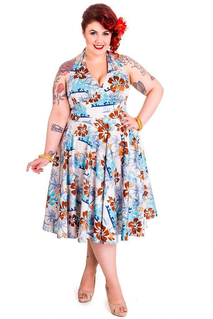 10 FREE Plus Size Sundress Sewing Patterns & Style Ideas | Free ...