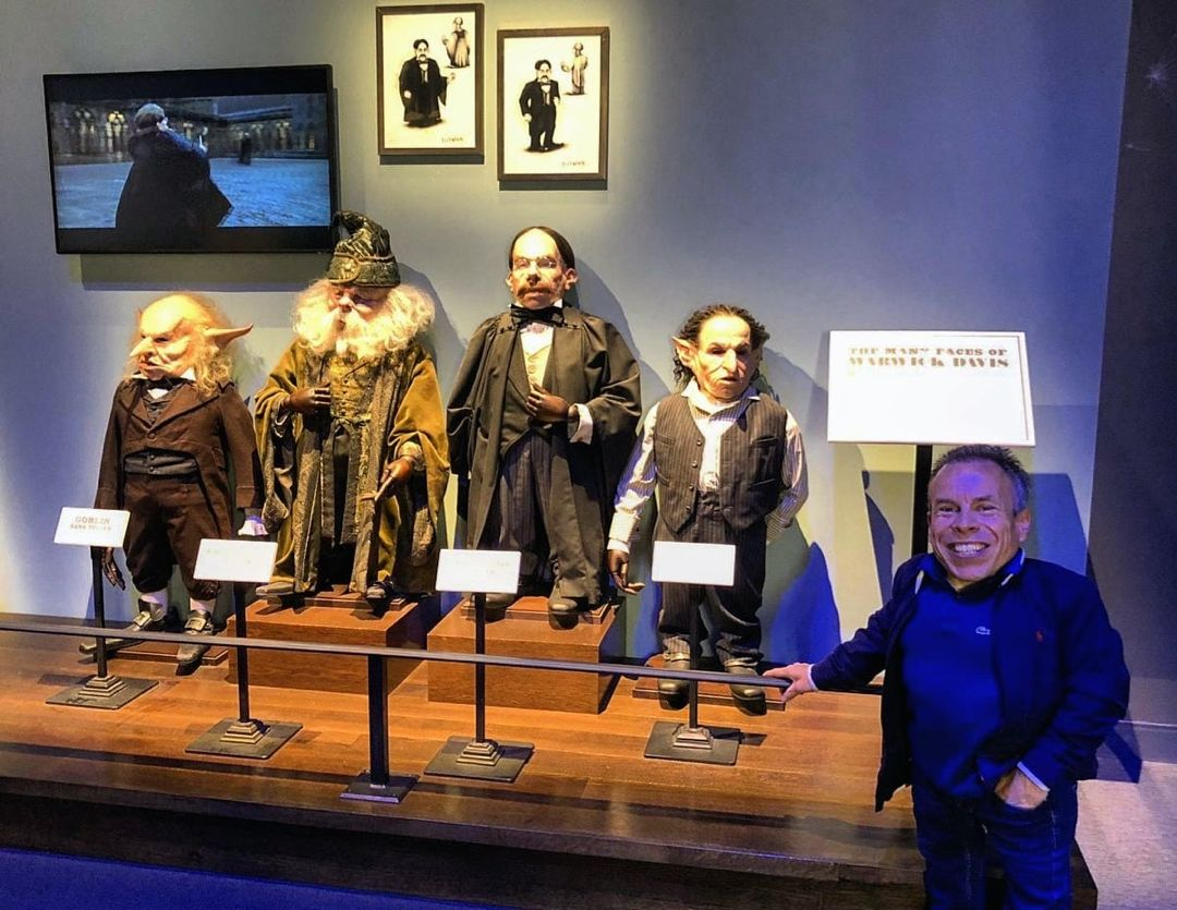 Harry Potter Fan Page On Instagram Actor Warwick Davis Played Four 4 Different Characters Fo Warwick Davis Warwick Davis Harry Potter Professor Flitwick