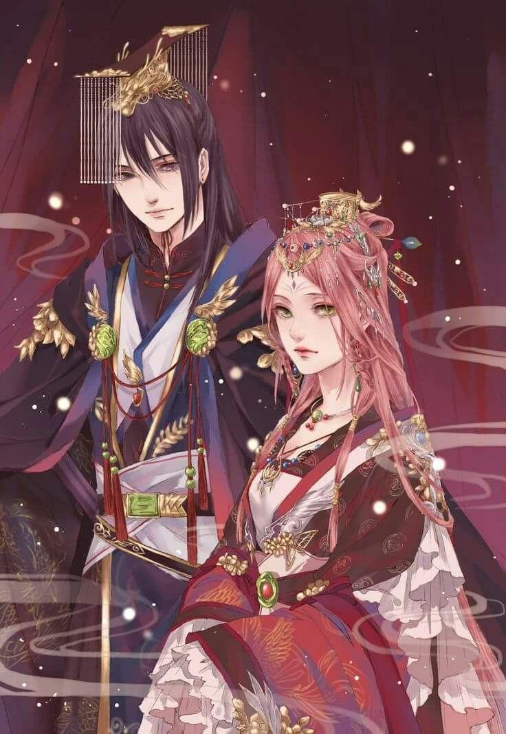 Sakura And Sasuke Wedding Fanart Gorgeous And Stunning Sakura And Sasuke Sasusaku Naruto Art