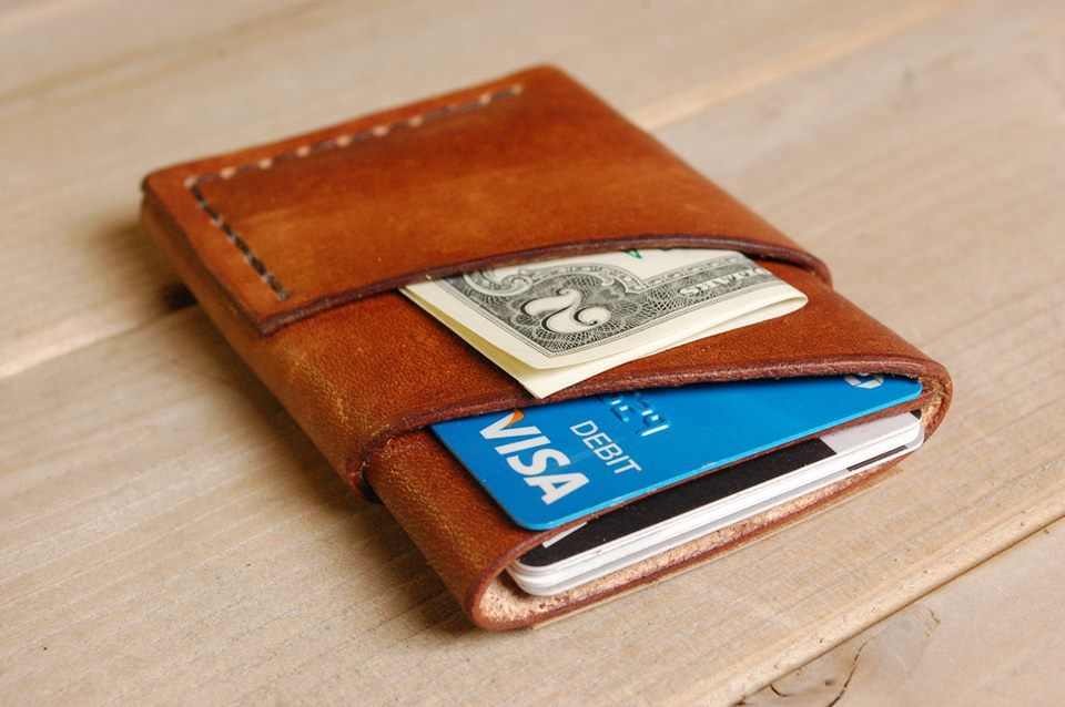 Craft And Lore The Port Wallet Minimal Leather Wallet