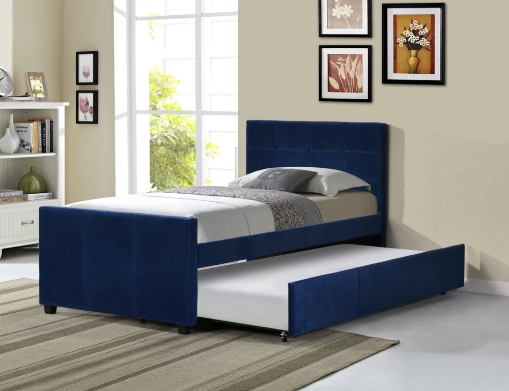 Mack & Milo Algrenon Twin Platform Bed with Trundle