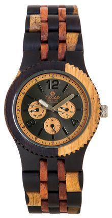 Tense Watches, The original wooden watch, since 1971. Vernon - Model J5203IDM $269.00