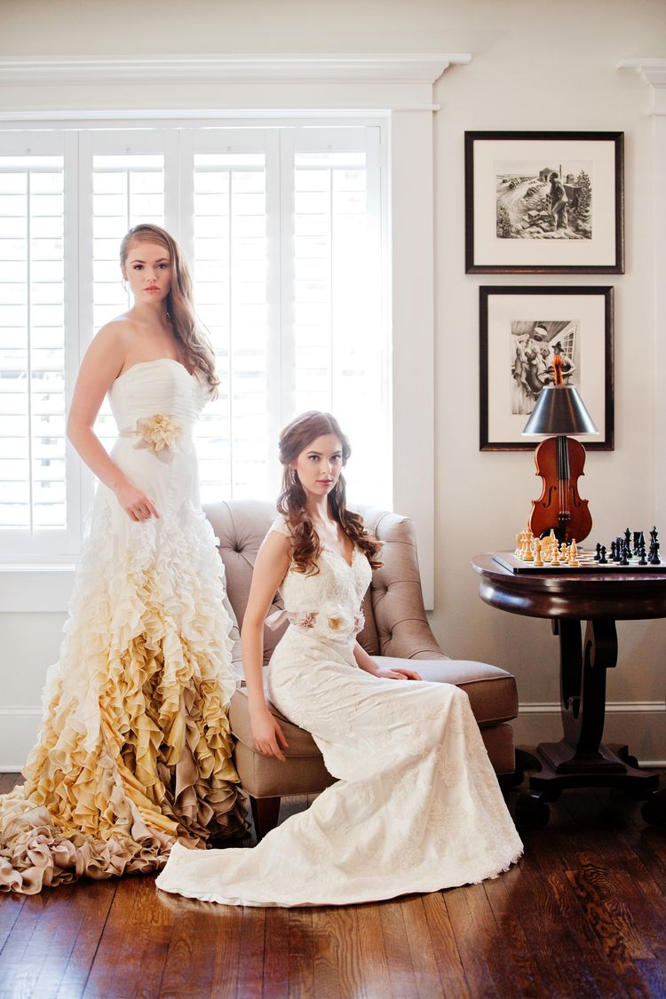Obsessed With This Ombre Wedding Gown Kansas City Designer