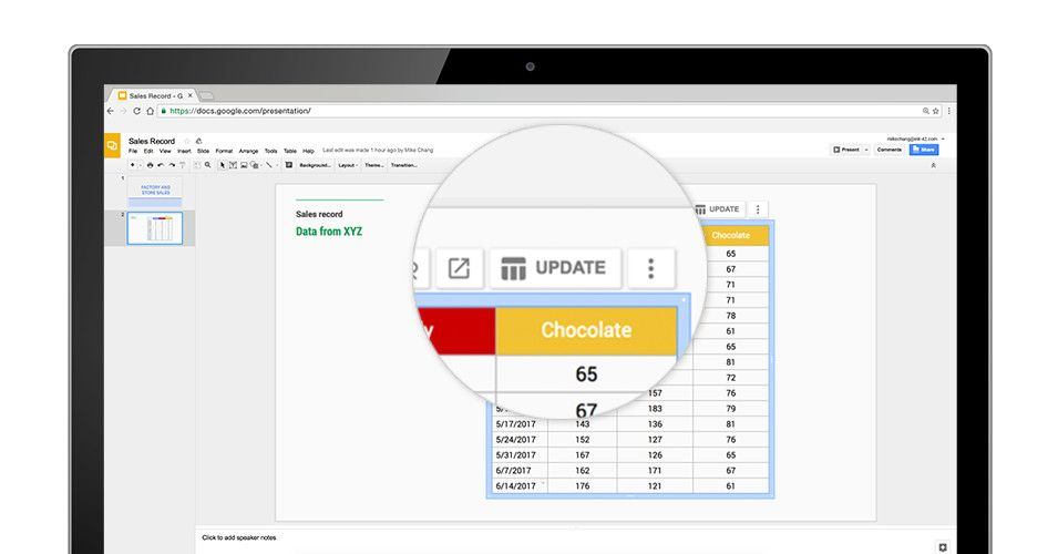 Google Sheets is making it easier to create charts through natural - spreadsheet google form