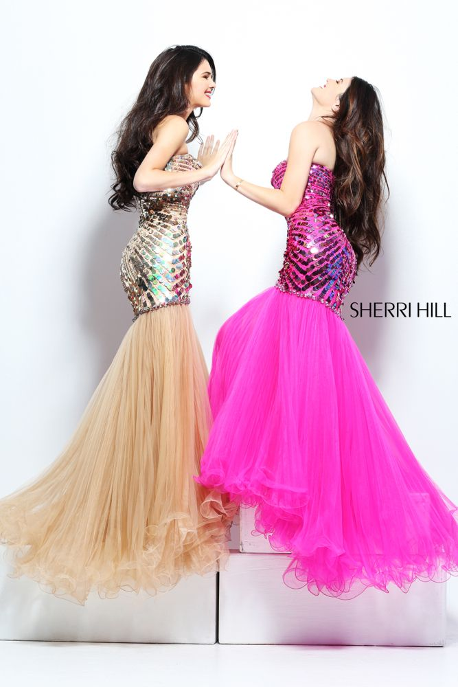 Sherri Hill - Dresses not pink .. | 2o14 Wedding -Hannah, what do ...