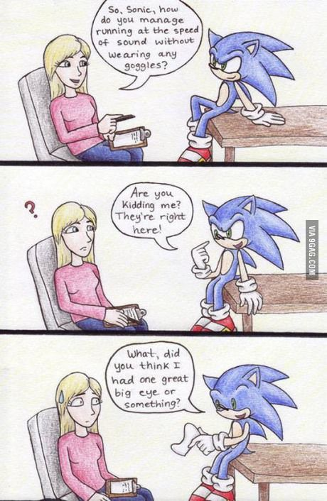 I'll never look at Sonic the same way again...