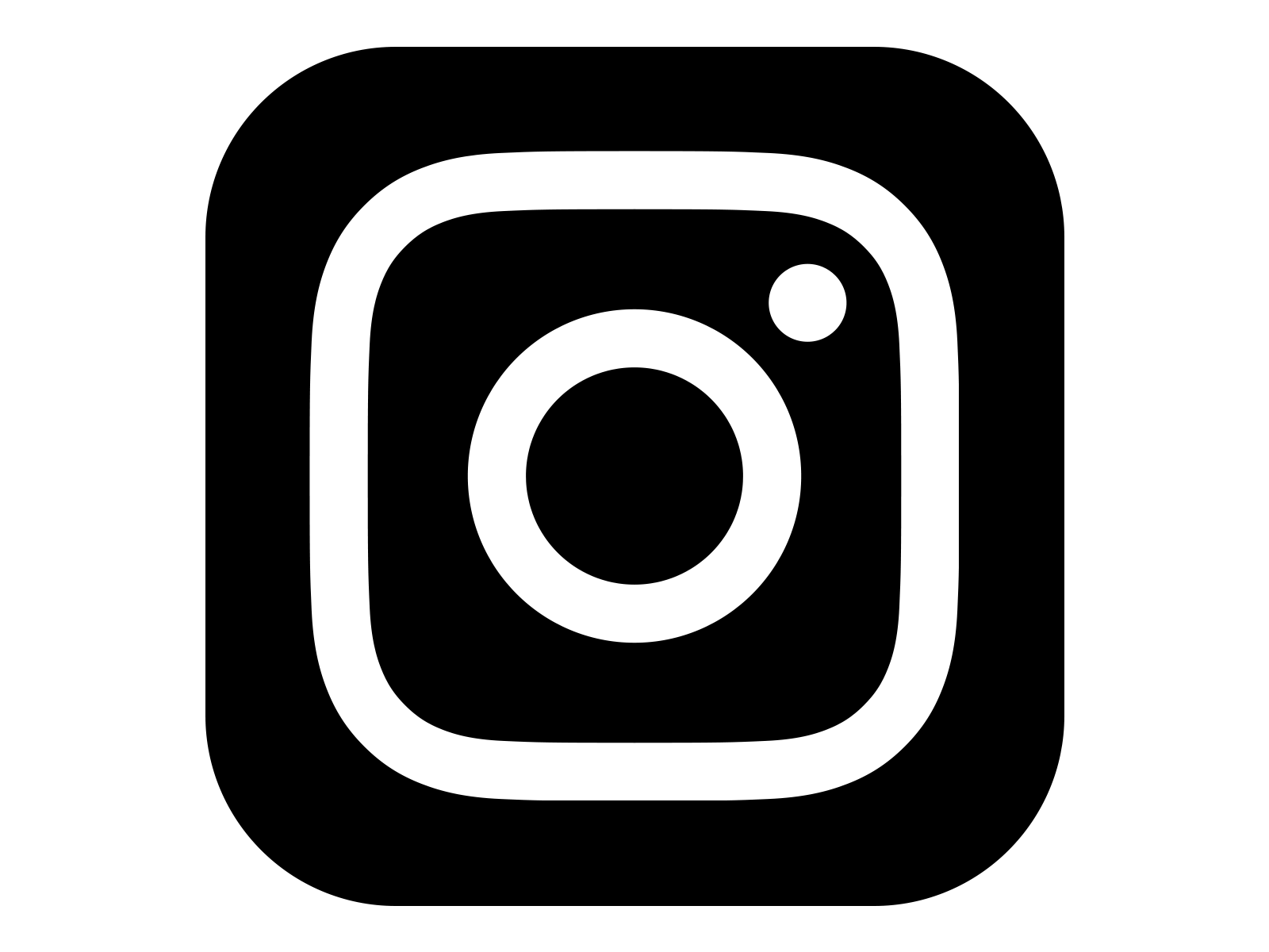 Instagram Icon White On Black In 2019 Instagram Logo