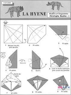 Origami Wolf Step By Stepeasy Wolfwolf Origamiorigami