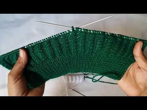 d14c2c32cd75d Single colour knitting design   5 - YouTube