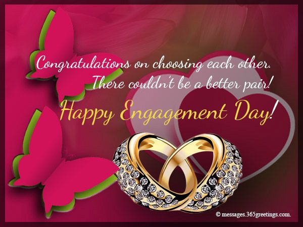 Happy Engagement Day Happy Engagement Engagement Wishes Engagement Congratulations