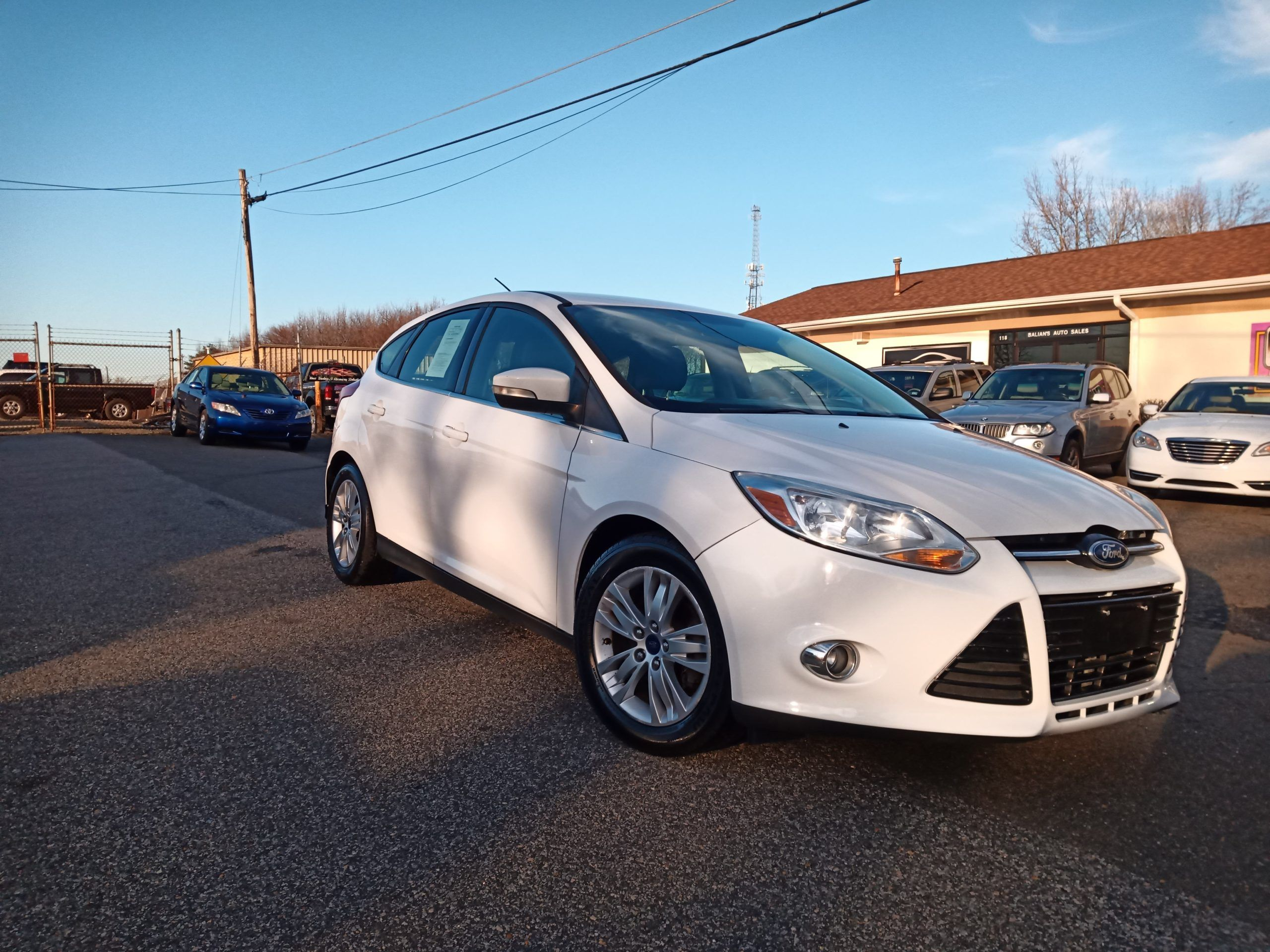This Vehicle Is Available For Sale Ford Focus Hatchback 2012