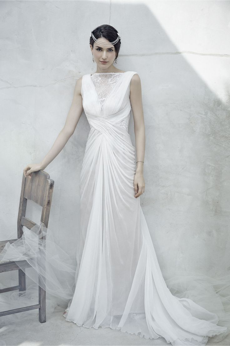 5577eecd516 Incredible Wedding Dresses for under  1000 - Tadashi Shoji through BHLDN