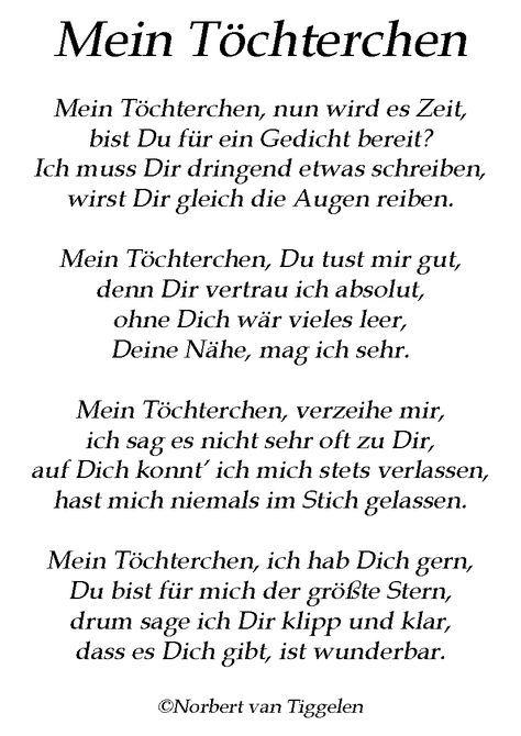 Gedichte Für Tochter Von Mutter