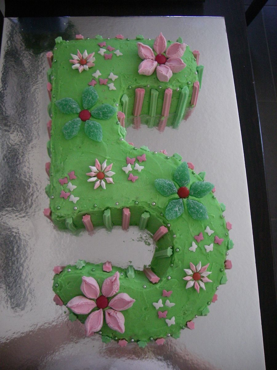 Number 5 Birthday Cake Cakes Etc Pinterest Birthday Cakes