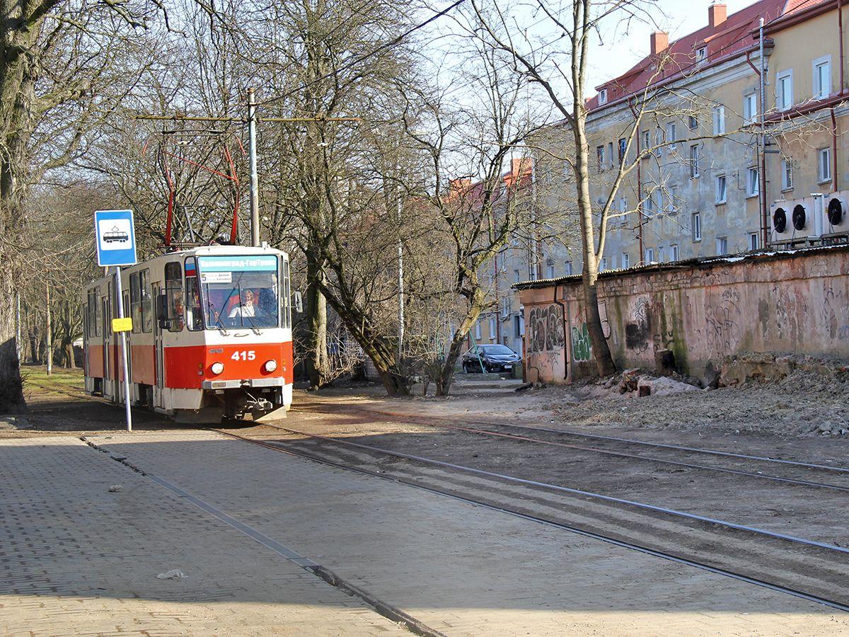 Трамвай в Калининграде