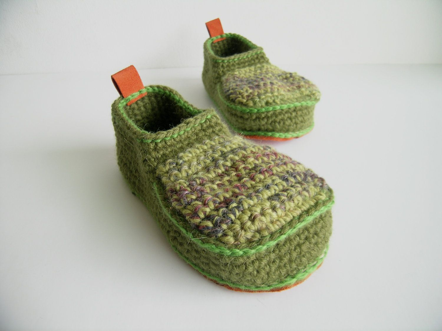 Booties Made for Walking - Toddler U.S. sizes 3-13. $39.00, via Etsy.