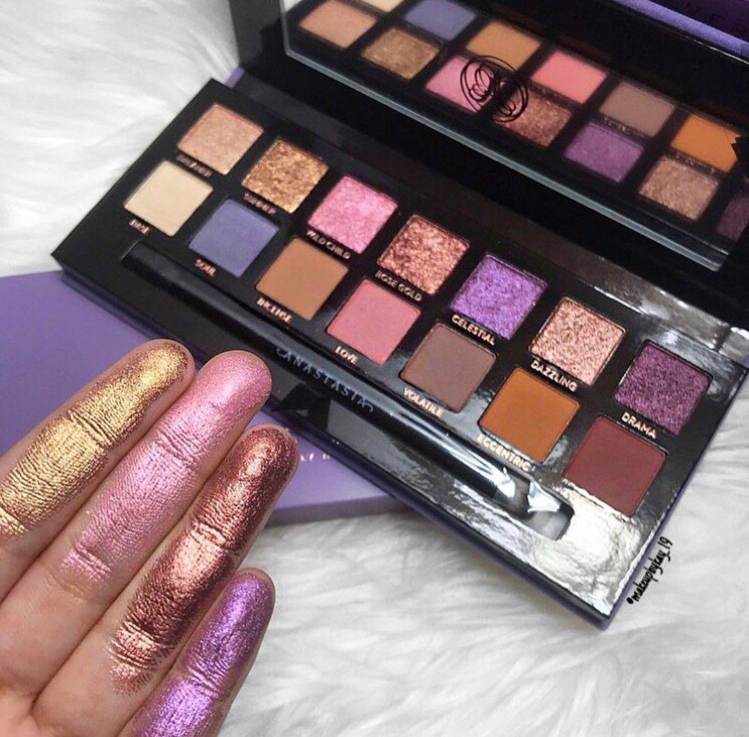 Norvina Palette Anastasia Beverly Hills. Makeup brands