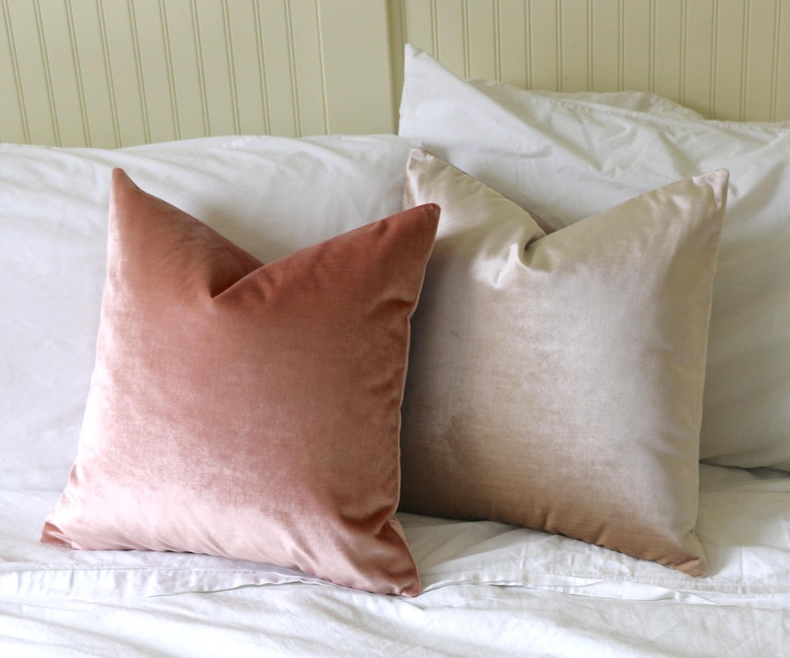 Blush Velvet Pillow Cover Belgium Velvet Blush Pillow Etsy Blush Pillows Light Pink Pillows Rose Gold Pillow