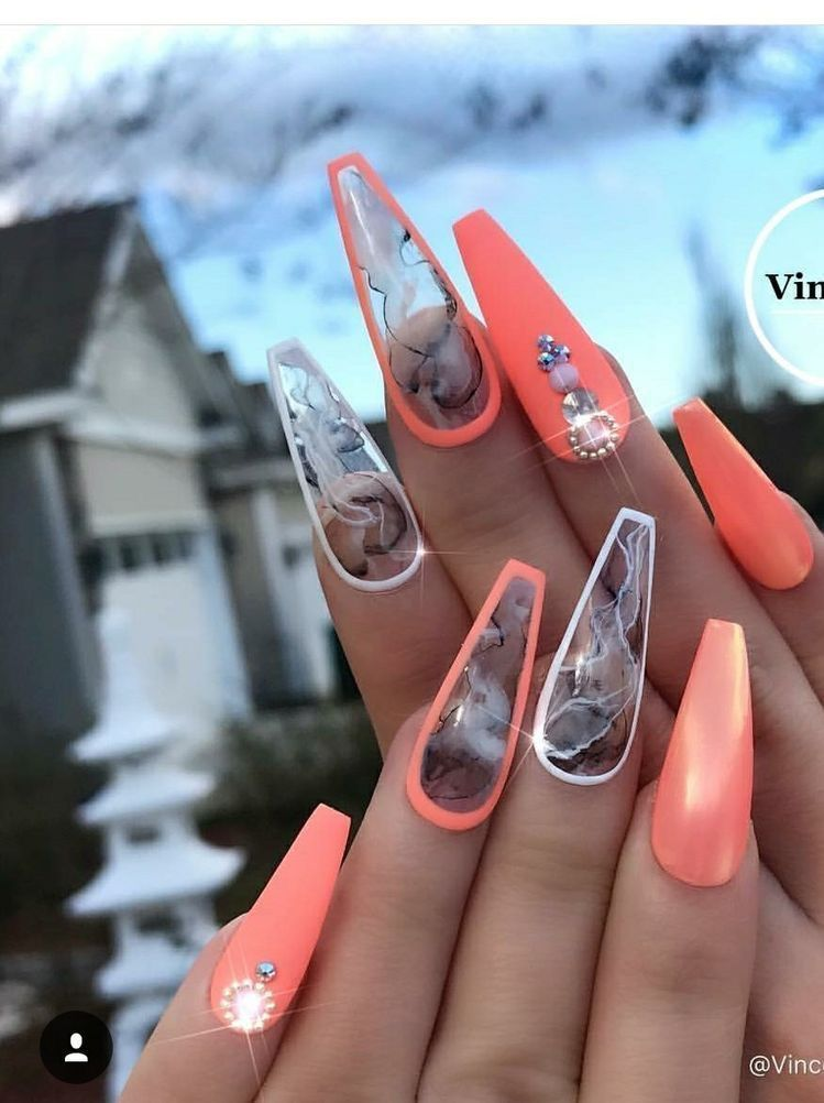 Follow Me Cold Princess For More Baddie Pins Almond Acrylic Nails Cute Acrylic Nails Best Acrylic Nails