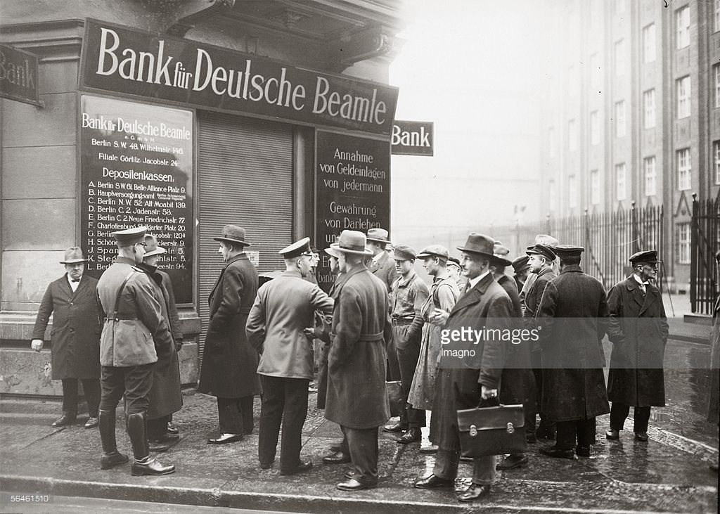 Bankruptcy Of German Civil Servant Bank Due To Bad Speculations In 2020 German Berlin Servant