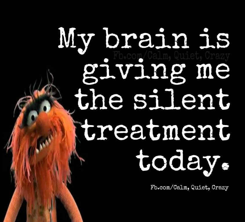 Pin by Charles Ramsden on Mupets The silent treatment