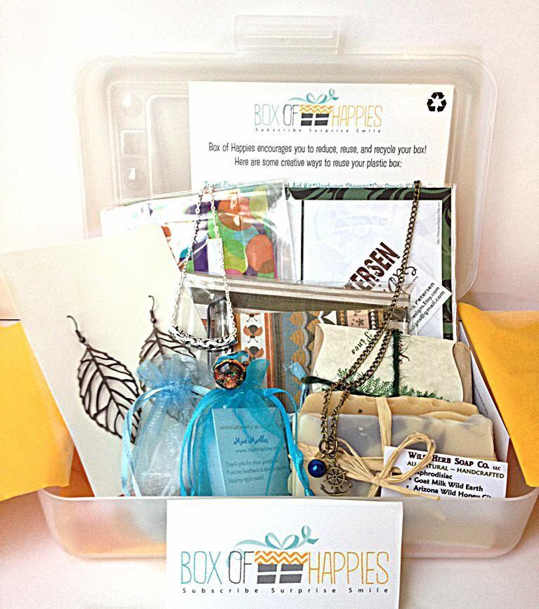Box of happies handmade subscription box gift