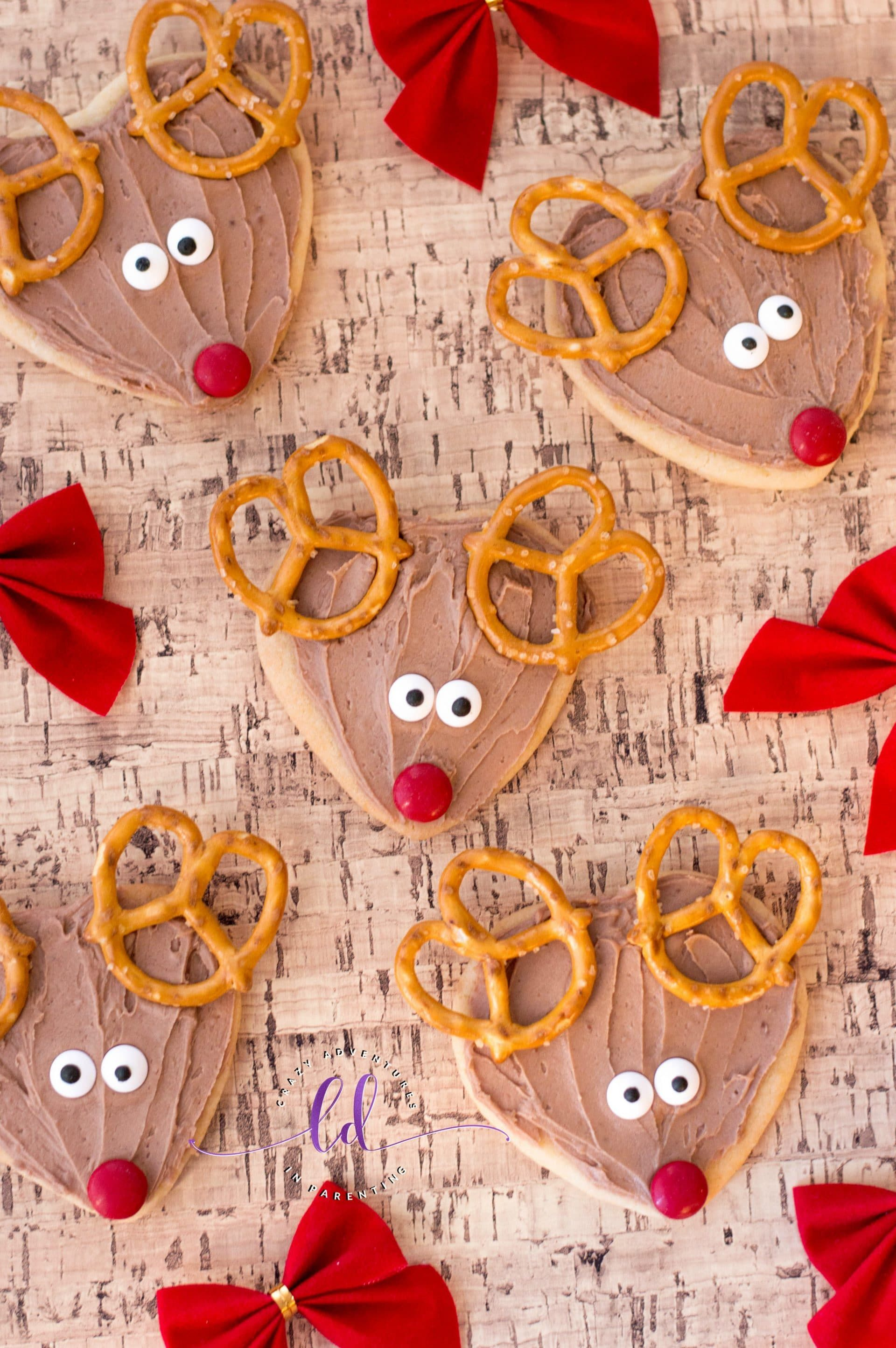 Your kids are going to LOVE these Rudolph Cookies