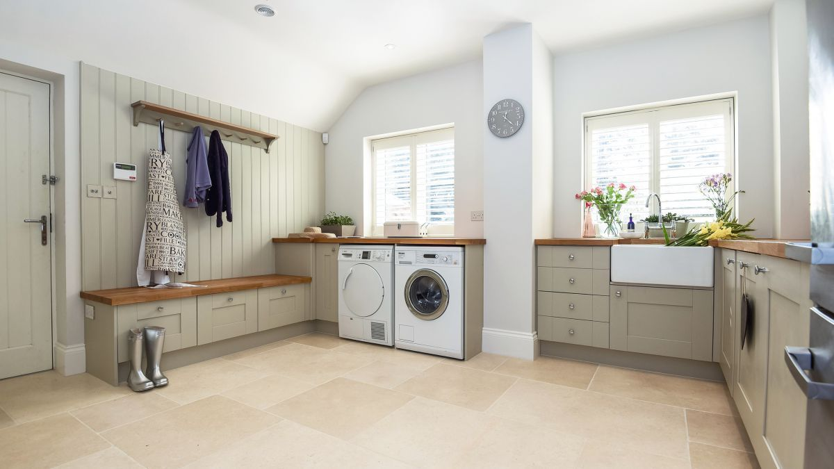 Delicieux A Utility Room Is Key For Keeping Appliances And Laundry Separate From  Open Plan Living Spaces. Hereu0027s How To Create One, Whatever Space You Have  Available ...