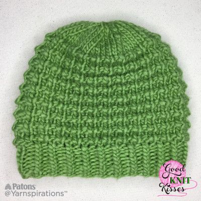 Free Easy Loom Knit Hat Pattern Loom Knitting Pinterest