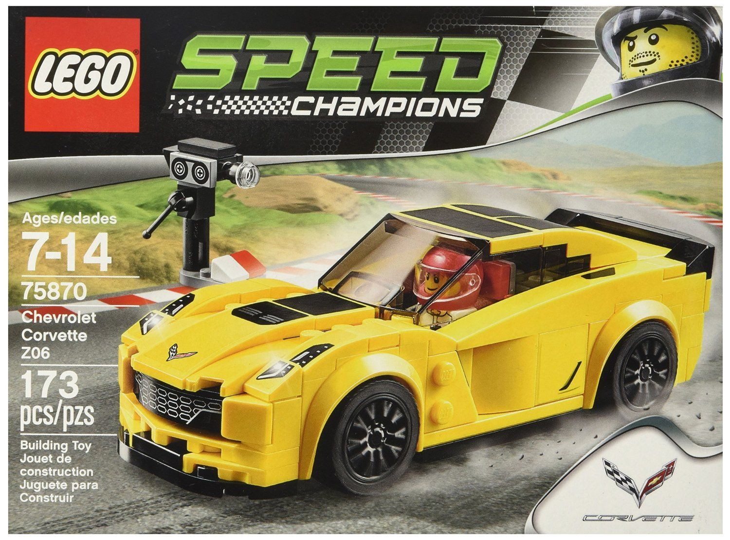 Gifts For 7 Year Old Boys Chevrolet Corvette Z06 Lego Speed