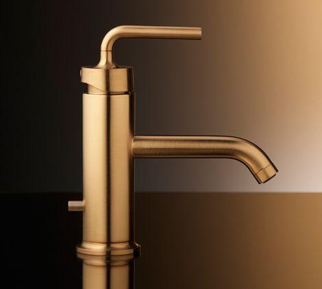 Brushed Gold Bathroom Faucets by Kohler | Gold bathroom, Faucet ...