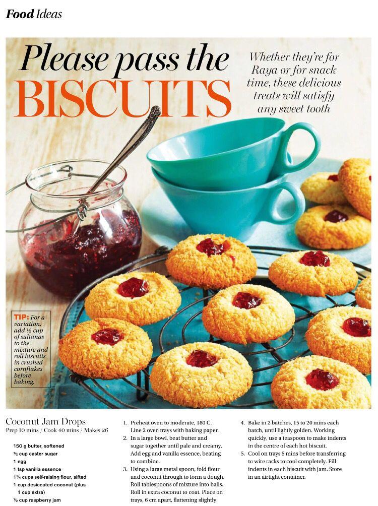 Coconut jam drops recipe coconut jam drops biscuit