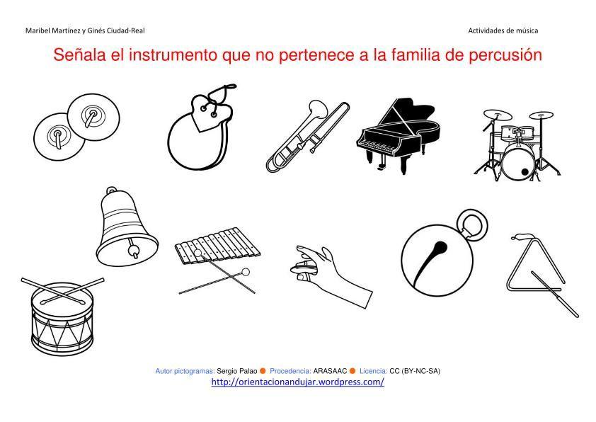 Instrumentos Musicales Para Trabajar En Infantil - Resultados de ...