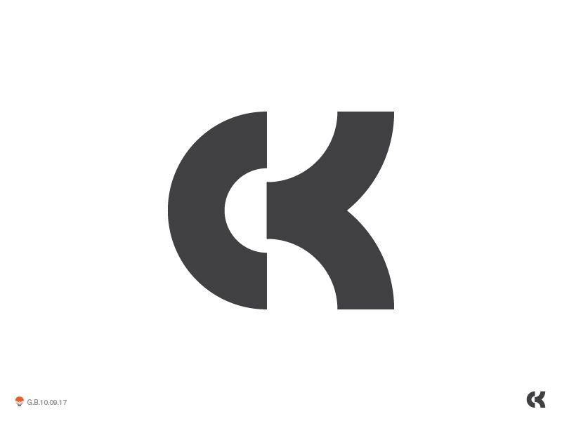 ck monogram | Creative Inspiration | Monogram logo, Logos